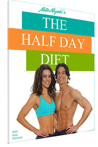 The Half Day Diet handbook is a 204 page guide
