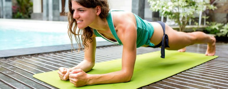 Using yoga for core strength is an excellent way to build stronger muscles